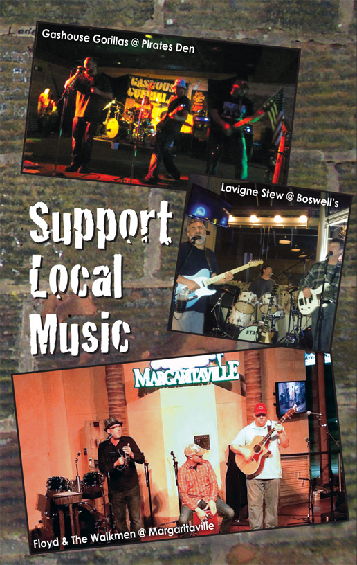 Support Local Music April 2013