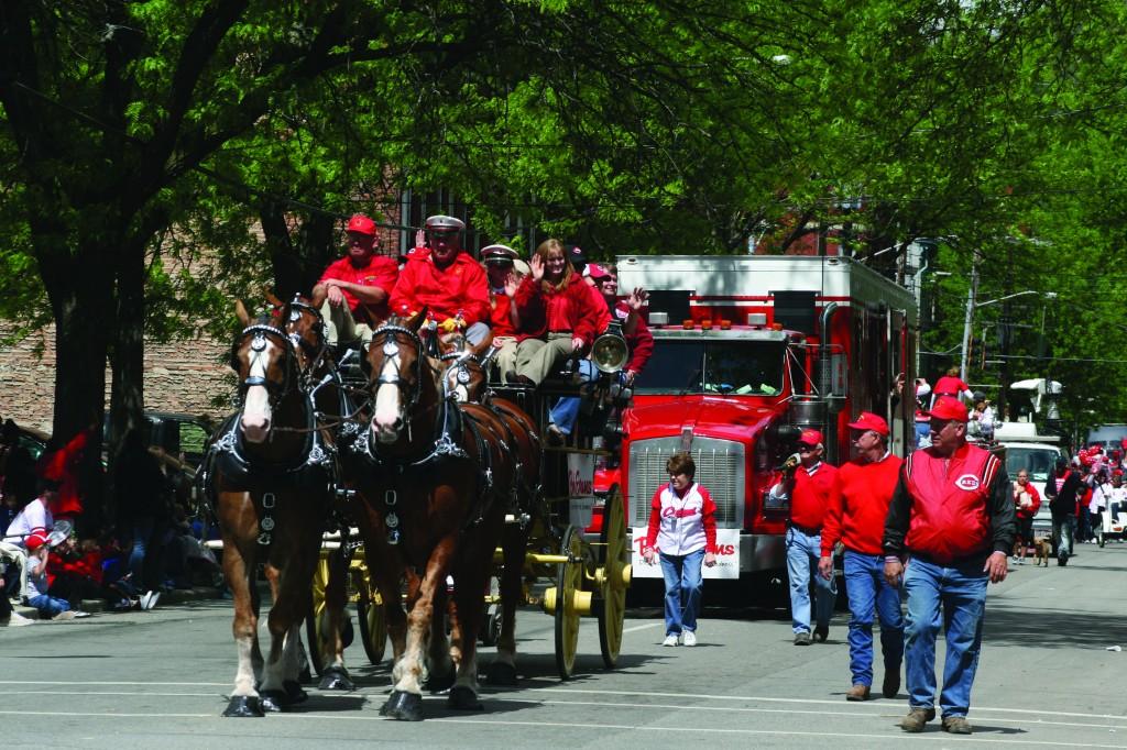 Cincinnati Reds Parade
