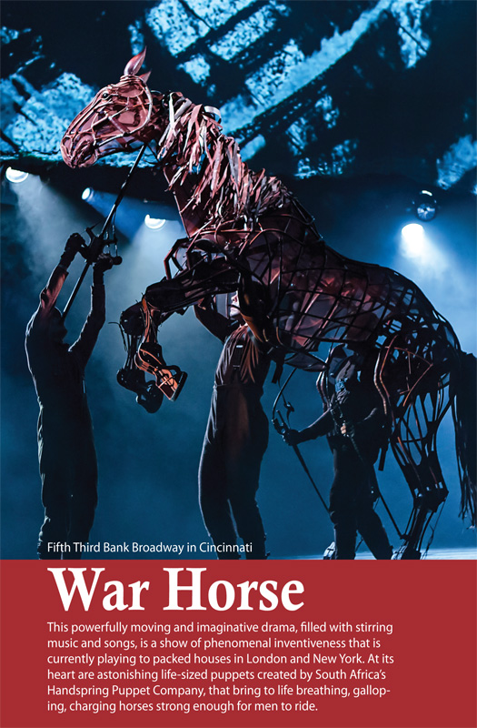 War Horse  - Joey. Christopher Mai, Derek Stratton, Rob Laqui