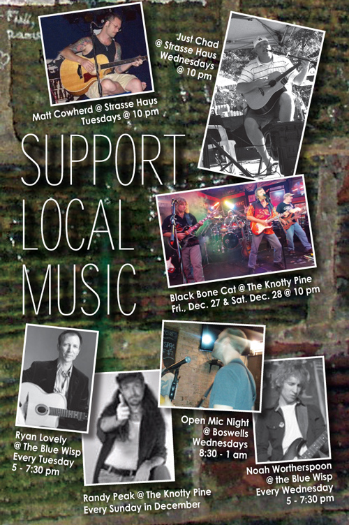 Support Local Music December 2013