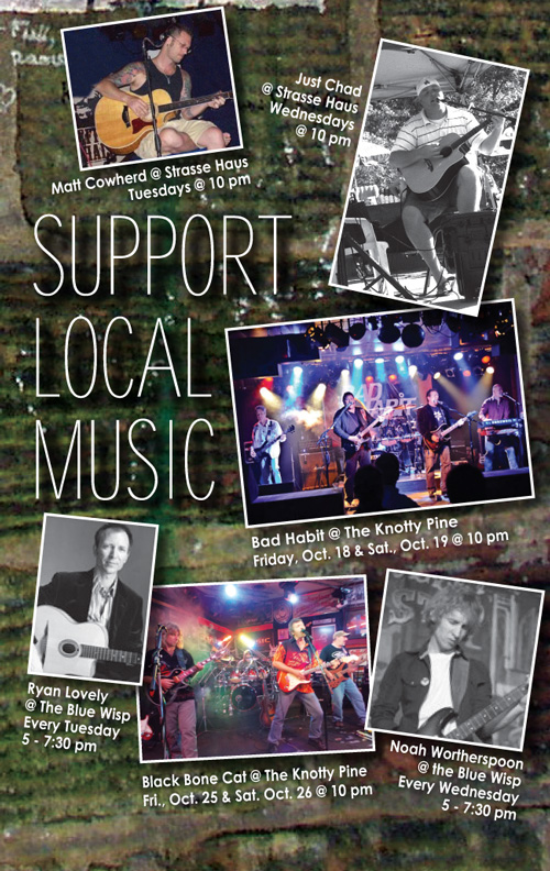 Support Local Music October 2013