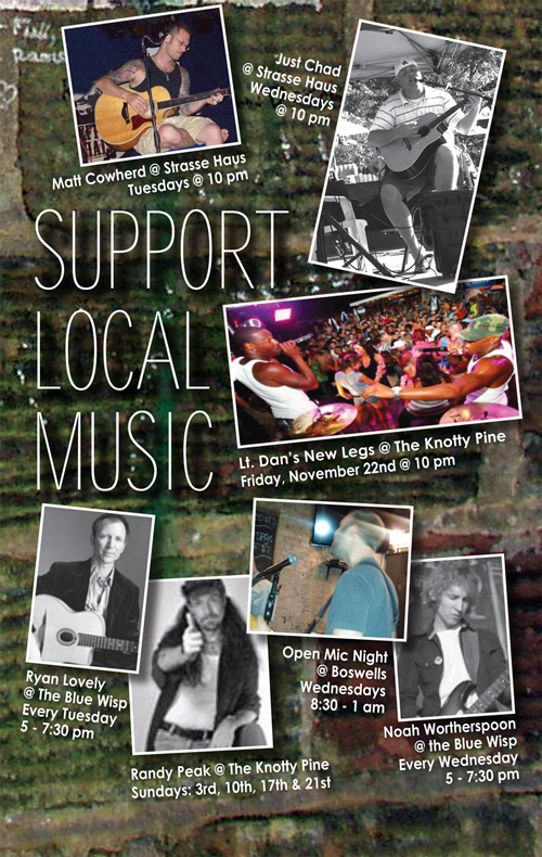 Support Local Music November 2013